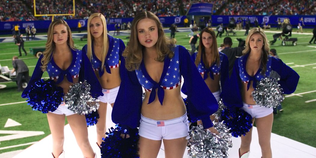 Makenzie Leigh hot and sexy cleavage - Billy Lynn's Long Halftime Walk (2016) HD 1080p WebDl (3)