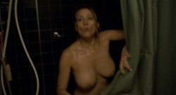 Paula Morgan nude topless in the shower – Closet Monster (2015) HD 1080p (2)
