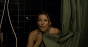 Paula Morgan nude topless in the shower – Closet Monster (2015) HD 1080p (4)