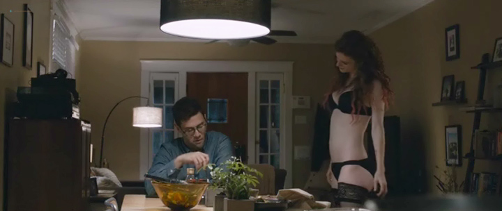Rose Leslie nude topless and sex - Sticky Notes (2016) (8)