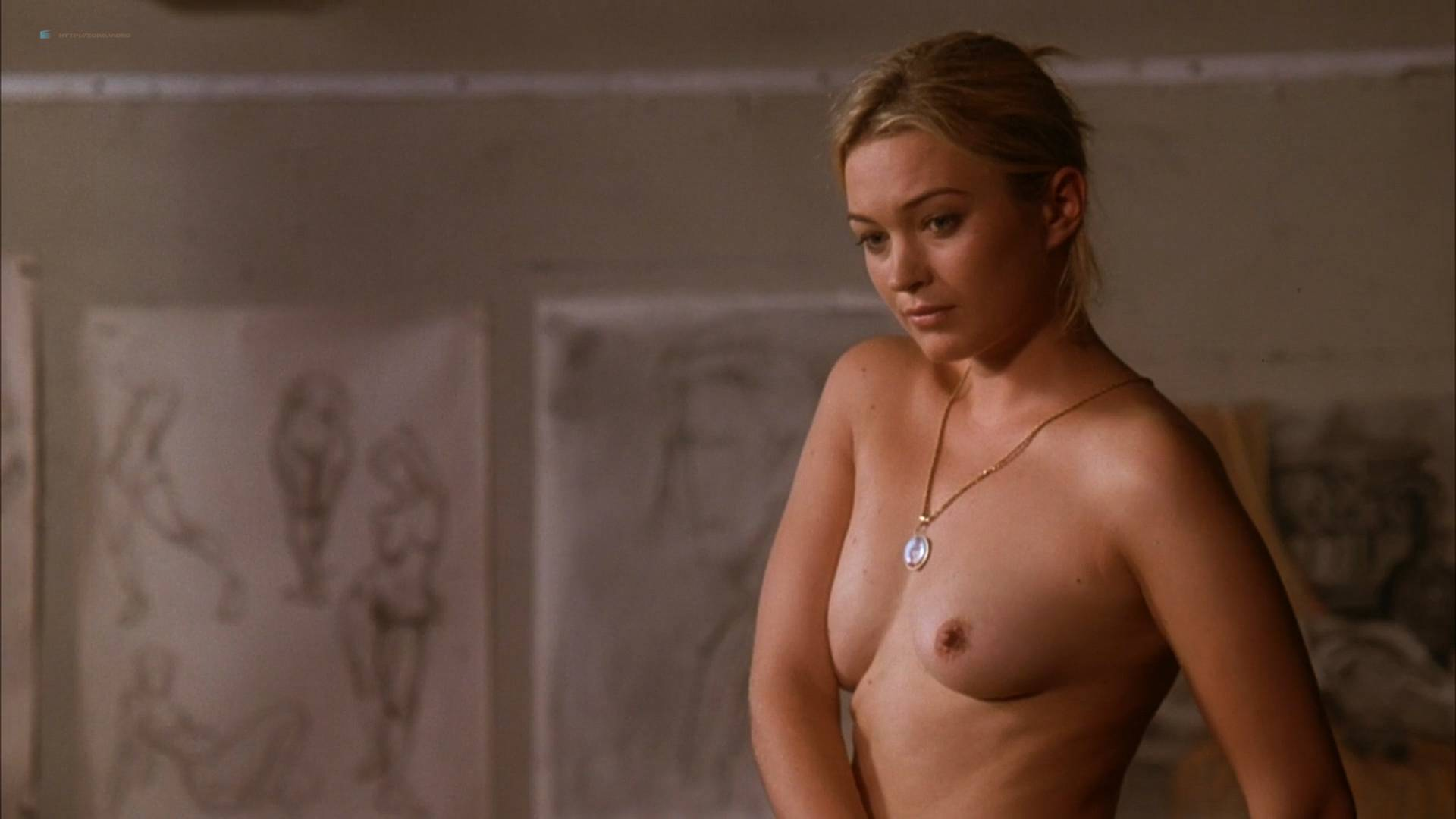 Sophia Myles nude butt and topless - Art School Confidential (2006) HD 1080p Web (9)