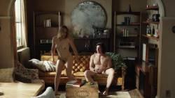Jemima Kirke nude full frontal and Lena Dunham nude bush - Girls (2017) s6e1 HD 1080p (5)