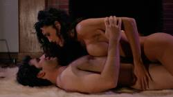 Julie Strain nude full frontal Rochelle Swanson and others nude lesbian sex - Sorceress (1994) HD 1080p BluRay (19)