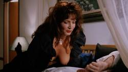 Julie Strain nude full frontal Rochelle Swanson and others nude lesbian sex - Sorceress (1994) HD 1080p BluRay (14)