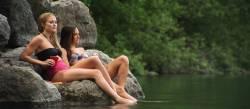 Lindsay Lamb nude sex Julianna Guill hot Briana Evigan sex - Mine Games (2012) HD 1080p WEB (18)