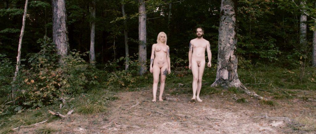 Lucretia Lynn nude full frontal Tristan Risk and Ellie Church nude - Harvest Lake (2016) HD 1080p WebDL (6)