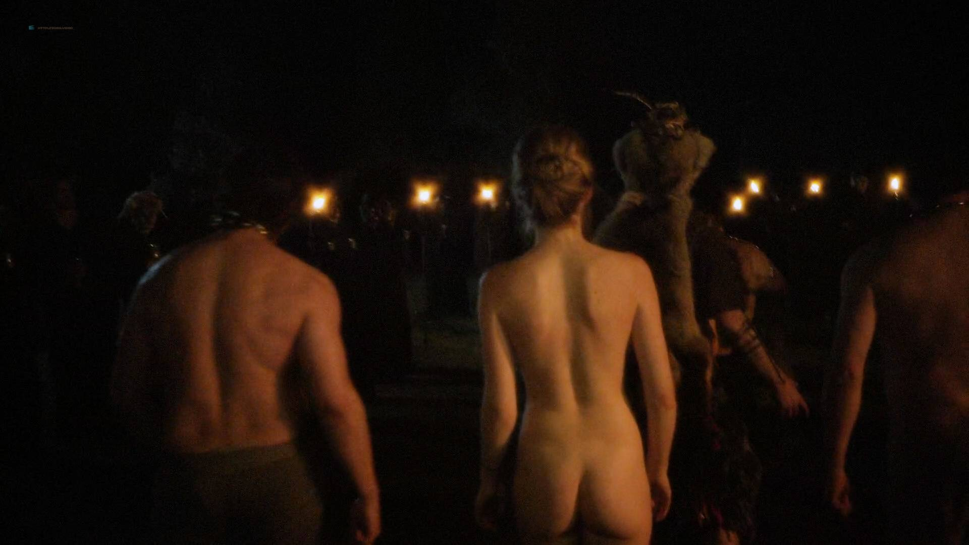 Allie Gallerani nude full frontal Amber Coney, Zoe Bleu, and other's nude too - The Institute (2017) HD 1080p Web (17)