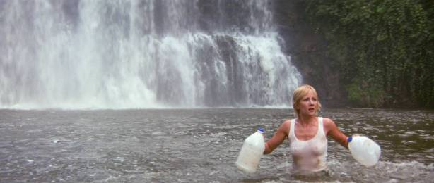 Anne Heche hot, wet bikini and c-true Jacqueline Obradors hot - Six Days Seven Nights (1998) HD1080p WEB (10)
