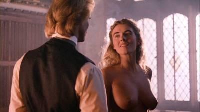 Elizabeth Hurley nude topless Bridget Fonda, Valérie Allain and other's nude bush - Aria (1987) HD 1080p BluRay (19)