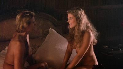 Elizabeth Hurley nude topless Bridget Fonda, Valérie Allain and other's nude bush - Aria (1987) HD 1080p BluRay (17)