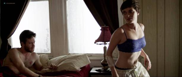 Kat Steffens nude topless and sex - The Shadow People (2016) HD 720p (6)