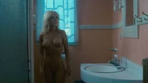 Linnea Quigley nude full frontal and Judy Tatum nude topless - Witchtrap (1989) HD 720p (2)