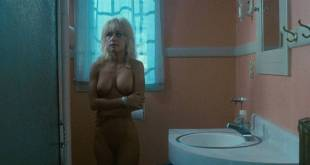 Linnea Quigley nude full frontal and Judy Tatum nude topless - Witchtrap (1989) HD 720p (1)