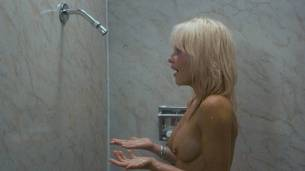 Linnea Quigley nude full frontal and Judy Tatum nude topless - Witchtrap (1989) HD 720p (9)