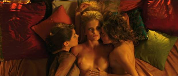 Petra Silander nude topless, other's nude butt - Virtual Revolution (2016) HD 1080p (12)