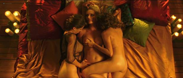 Petra Silander nude topless, other's nude butt - Virtual Revolution (2016) HD 1080p (10)
