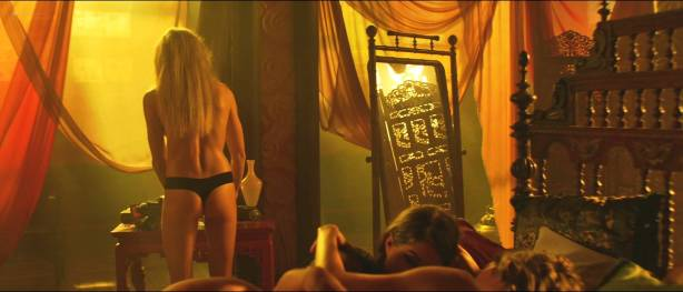Petra Silander nude topless, other's nude butt - Virtual Revolution (2016) HD 1080p (2)