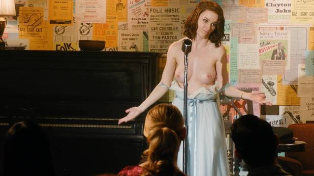 Rachel Brosnahan nude topless and butt Kyla Walker hot- The Marvelous Mrs Maisel (2017) s1e1 HD 1080p (2)