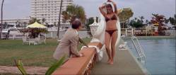 Raquel Welch hot and wet Christine Todd nude topless - Lady in Cement (1968) HD 1080p BluRay (2)