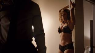 Vanessa Vander Pluym hot and tied up in lingerie - Shades of Blue  (2017) s2e1 HD 720p