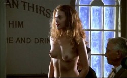 Ashley Judd nude topless and bush and Mira Sorvino nude - Norma Jean & Marilyn (1996) (8)