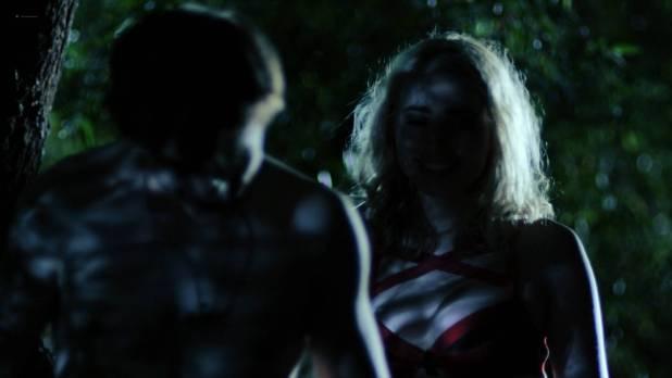 Elisabeth Ferrara hot modeling and side boob - The Horde (2016) HD 1080p Web (10)