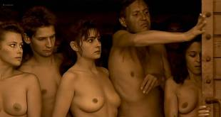 Anouk Grinberg nude bush and boobs Charlotte Gainsbourg hot sex - Merci la vie (FR-1991) (2)