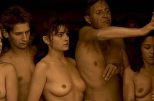 Anouk Grinberg nude bush and boobs Charlotte Gainsbourg hot sex - Merci la vie (FR-1991) (2)