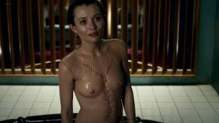 Emily Browning nude topless and wet – American Gods (2017) s1e5 HD 1080p web