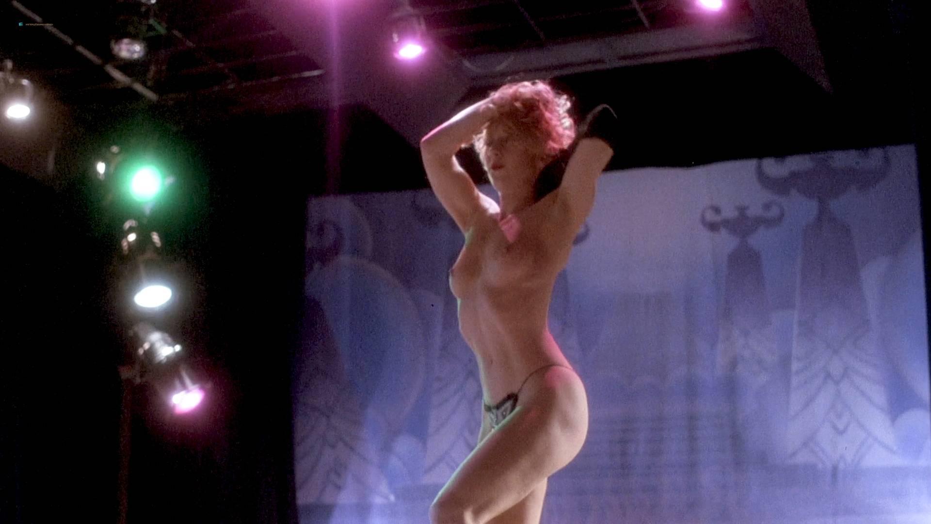 Grace Jones nude Lisa Lyon hot thong and Tricia Burns nude topless - Vamp (1986) HD 1080p BluRay (2)