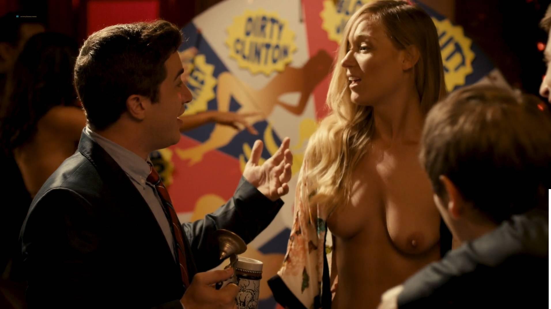Jennifer Krukowski nude topless Aubrey Ferron and others all nude - Total Frat Movie (2016.) HD 1080p WEB (19)