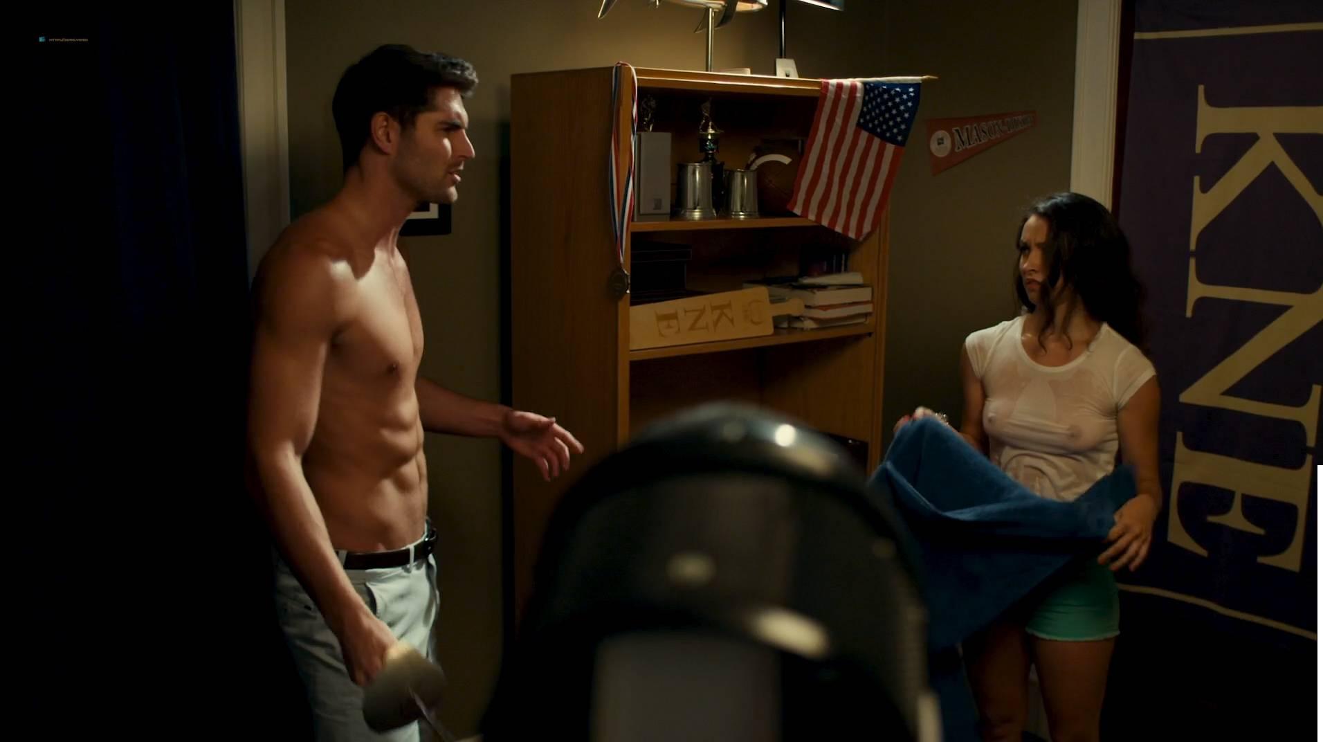 Jennifer Krukowski nude topless Aubrey Ferron and others all nude - Total Frat Movie (2016.) HD 1080p WEB (15)