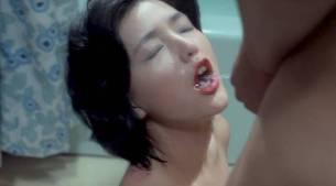 Jun Izumi nude watersport and lot of sex - Woman with Pierced Nipples (JP-1983) (7)
