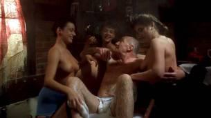 Landon Hall nude Michelle Bauer nude sex - Puppet Master 3 (1991) HD 1080p BluRay (11)