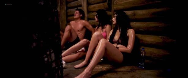Scout Taylor-Compton hot and Christina Ulloa hot bikini - 247°F (2012) HD 1080p (2)