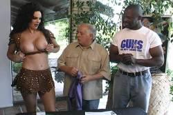 Kimberly McArthur nude topless Sybil Danning, Barbara Edwards other's nude too - Malibu Express (1985) (21)