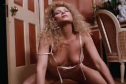 Kimberly McArthur nude topless Sybil Danning, Barbara Edwards other's nude too - Malibu Express (1985) (15)