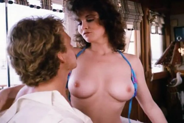 Kimberly McArthur nude topless Sybil Danning, Barbara Edwards other's nude too - Malibu Express (1985) (6)