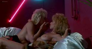 Shari Shattuck nude in shower Lisa London and other's nude - The Naked Cage (1986) (10)