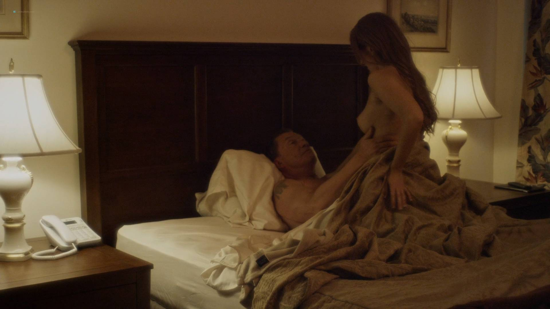 Helena Mattsson hot, Ileana Huxley and April Jorgensen nude topless - Code of Honor (2016) HD 1080p (2)