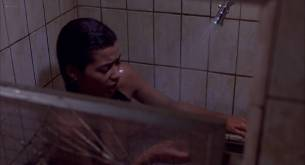 Irene Cara nude bush and boobs in the shower - Certain Fury (1985) HD 1080p BluRay (13)