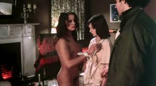 Leonora Fani nude butt bush Christine Boisson nude full frontal - Naked Massacre (1976) (9)