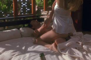 Loryn Locklin nude butt and sex - Fortress (1993) HD 1080p (10)