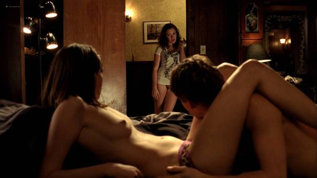 Natasha Alam nude bush C C Sheffield nude topless Thea Brooks hot - True Blood (2010) s3e1 HD 1080p BluRay (8)