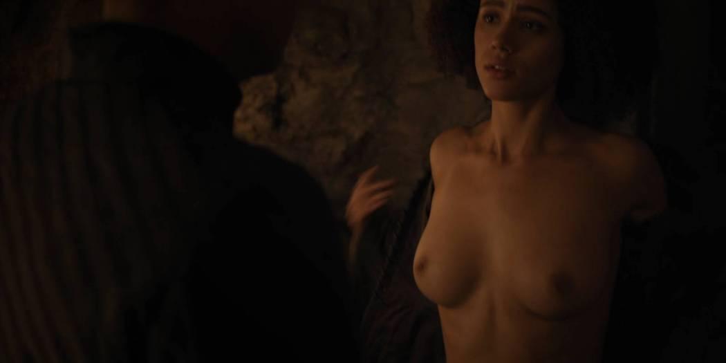 Nathalie Emmanuel nude topless and butt - GoT (2017) s7e2 HD 1080p Web (12)