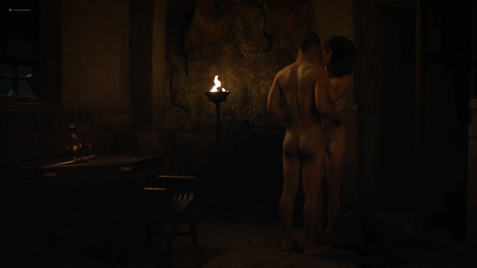 Nathalie Emmanuel nude topless and butt - GoT (2017) s7e2 HD 1080p Web (7)