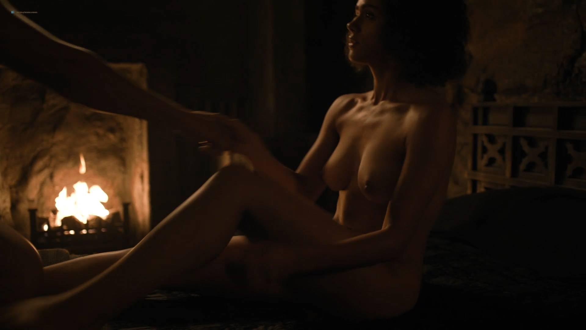 Nathalie Emmanuel nude topless and butt - GoT (2017) s7e2 HD 1080p Web (6)