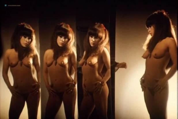 Sylvia Kristel nude bush and boobs - Naakt over de schutting (NL-1973) VHS (14)