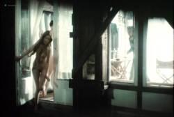 Sylvia Kristel nude bush and boobs - Naakt over de schutting (NL-1973) VHS (8)