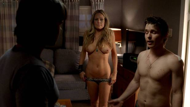 Anna Paquin nude and sex Kate Luyben nude topless - True Blood (2010) s3e8-9 HD 1080p BluRay (2)